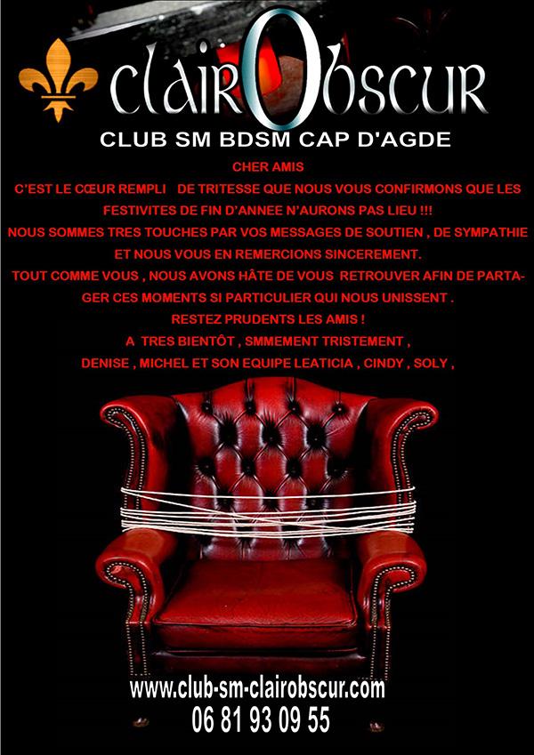 Club SM et BDSM Clair Obscur